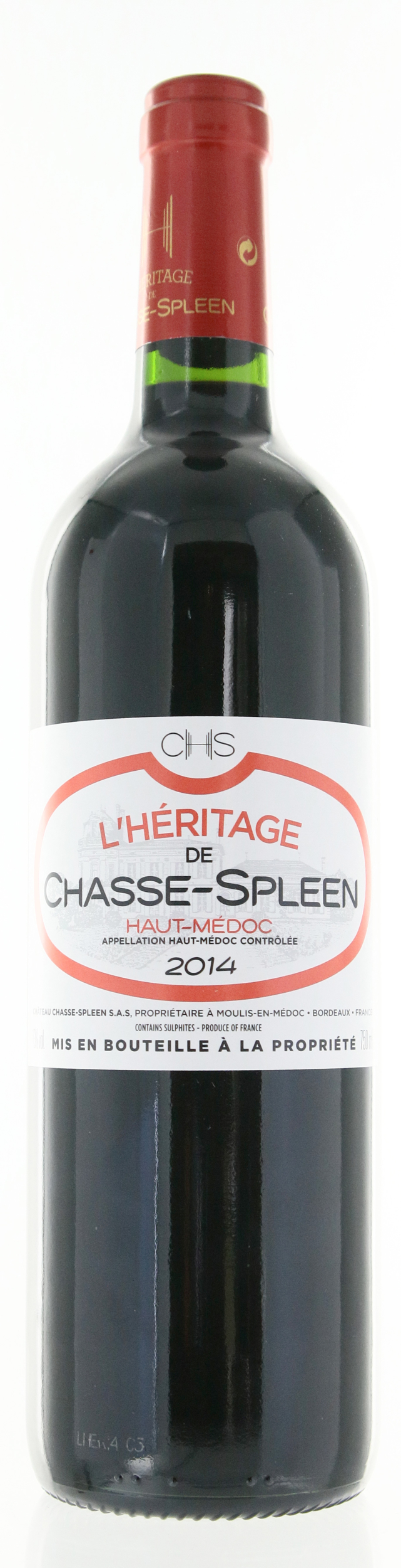 Haut Medoc - L\'Héritage de Chasse-Spleen - 2014