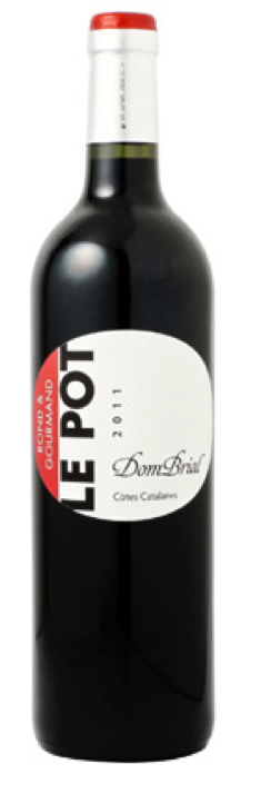 IGP Cotes Catalanes - Le Pot Rouge - Domaine Dom Brial - 2018