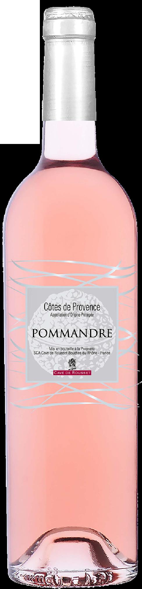Côtes de Provence - Cuvée Pommandre - Cave de Rousset - 2019