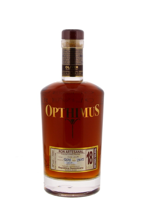 Opthimus 18 Y - République Dominicaine - 70cl - 38°