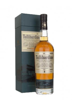 Tullibardine 500 Sherry Finish - Ecosse - Single Malt - Non Tourbé - 70cl - 43°