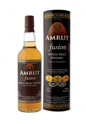 Amrut Fusion - Inde - Single Malt - Peu Tourbé - 70cl - 50°