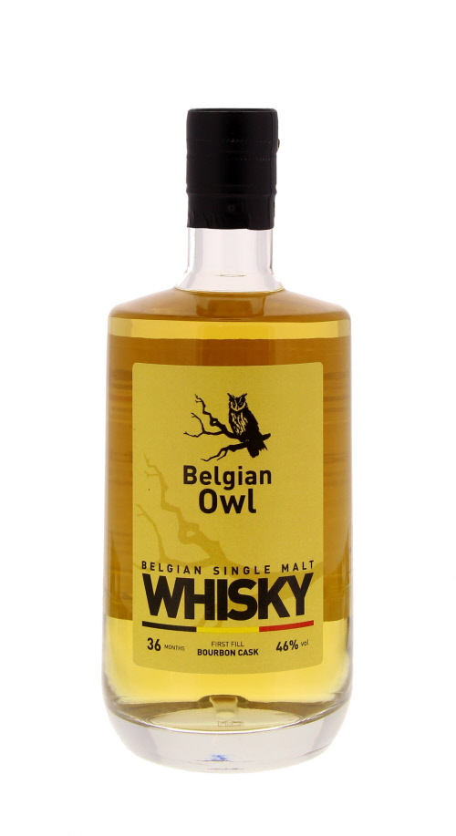 Belgian Owl 3 Years (Identité) - Belgique - Single Malt - Non Tourbé - 50cl - 46°