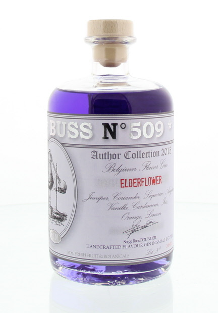 Gin - Buss n°509 Elderflower - Belgique - 70cl - 40°
