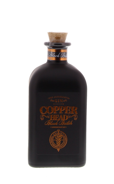 Gin - Copper Head Black - Belgique - 50cl - 42°