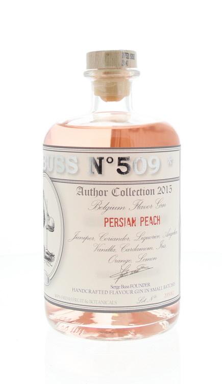 Gin - Buss n°509  Persian Peach - Belgique - 70cl - 40°