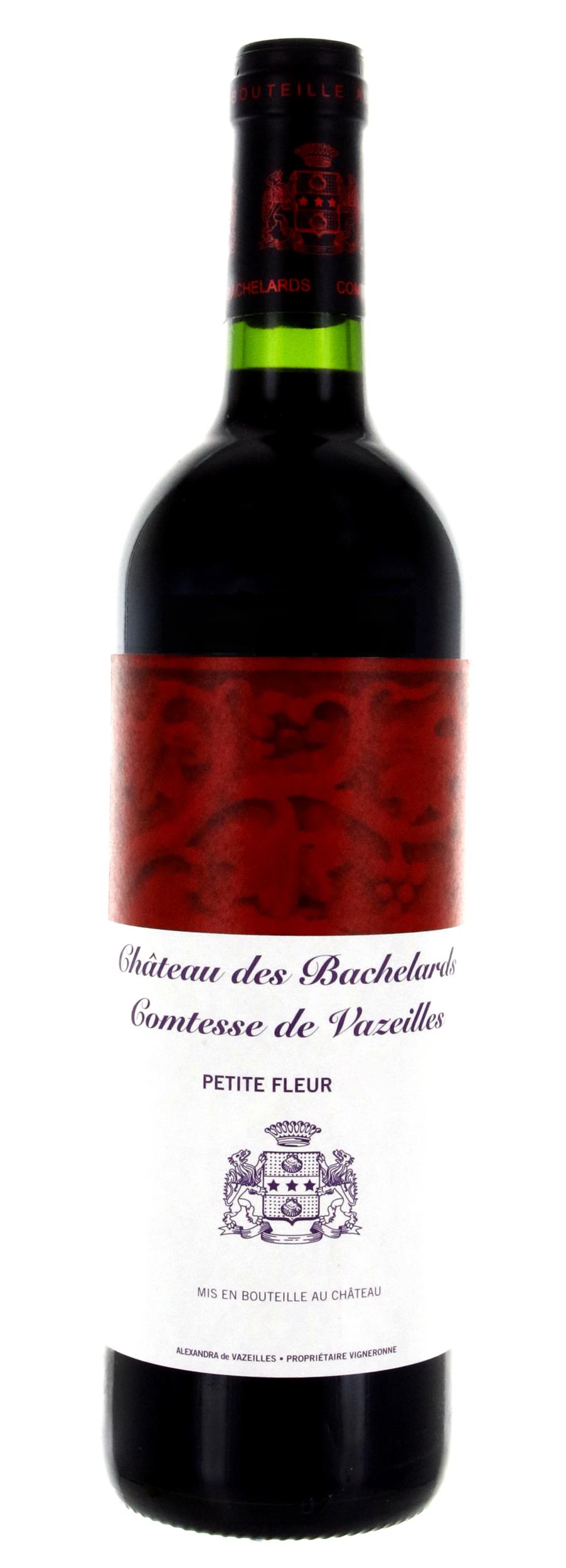 Petite Fleur - Rouge - Château Bachelards - 2017