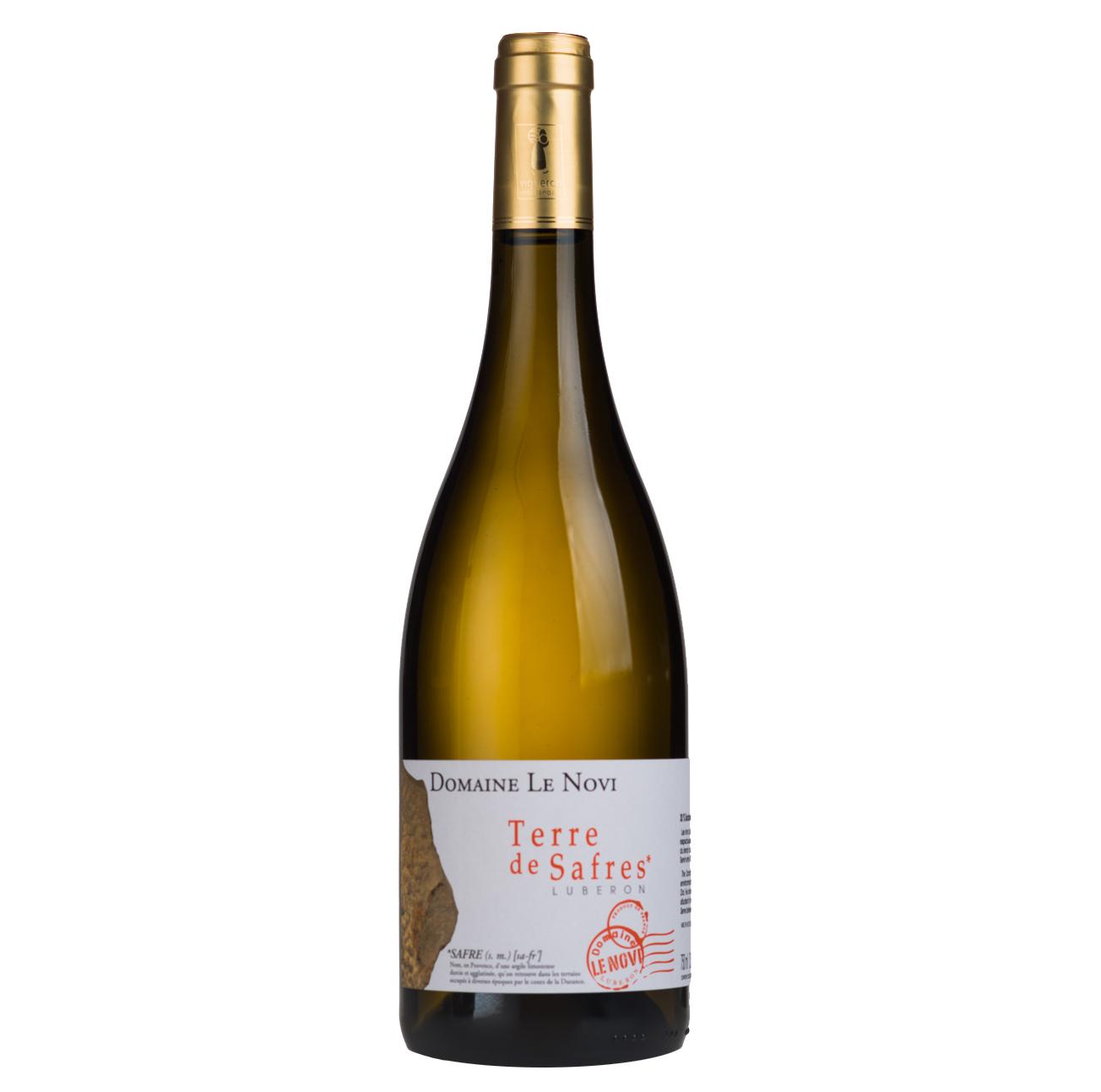 Luberon - Terre De Safres - Blanc - Domaine Le Novi - 2019 - BIO