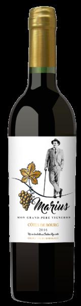 Côtes de Bourg - Marius - Vignobles Lemaitre - 2016
