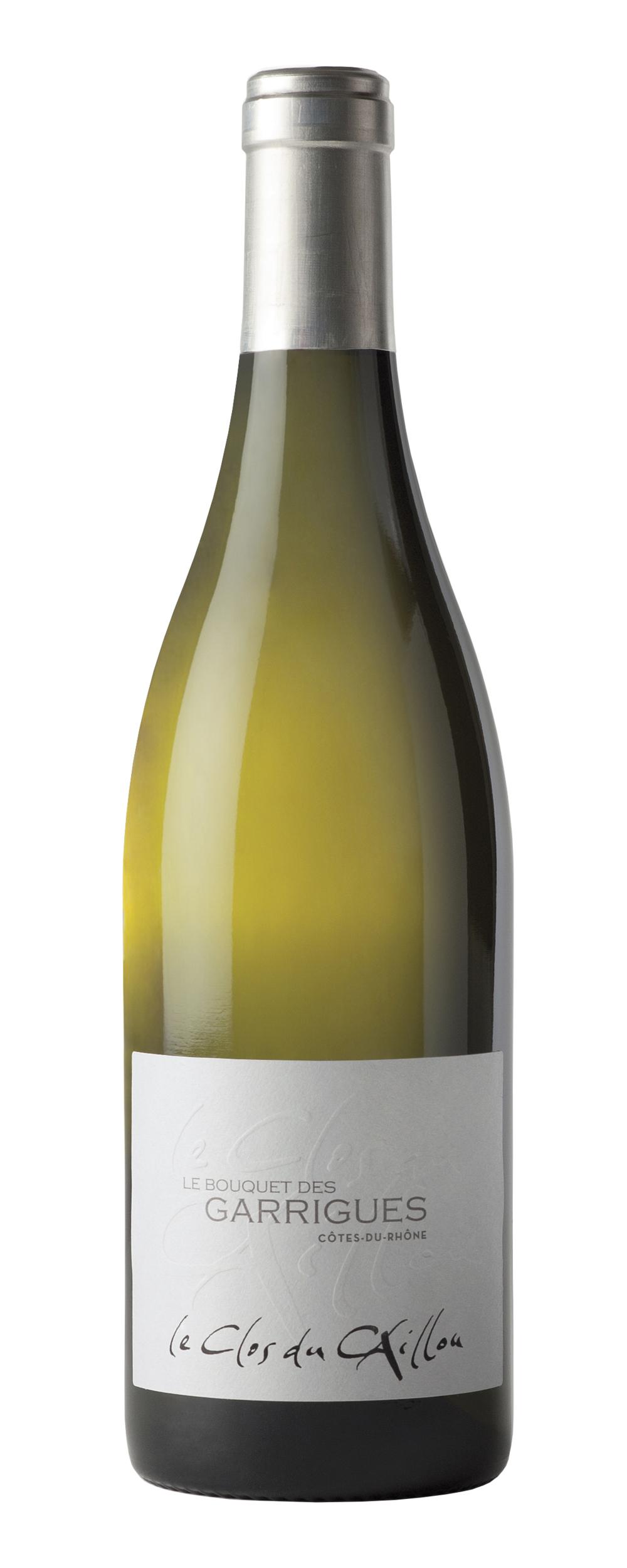 Côtes du Rhône - Bouquet des Garrigues - Blanc - Domaine Le Clos du Caillou - BIO - 2019