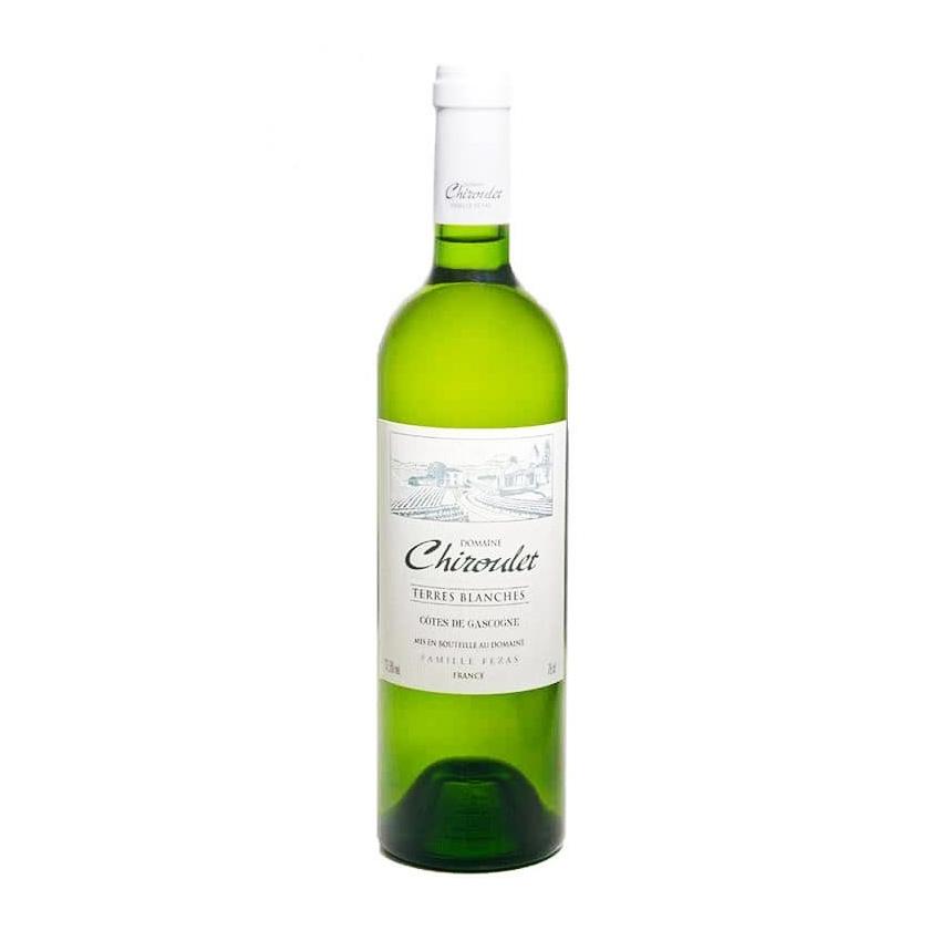 Igp Côtes de Gascogne - Les Terres Blanches - Domaine Chiroulet - 2018