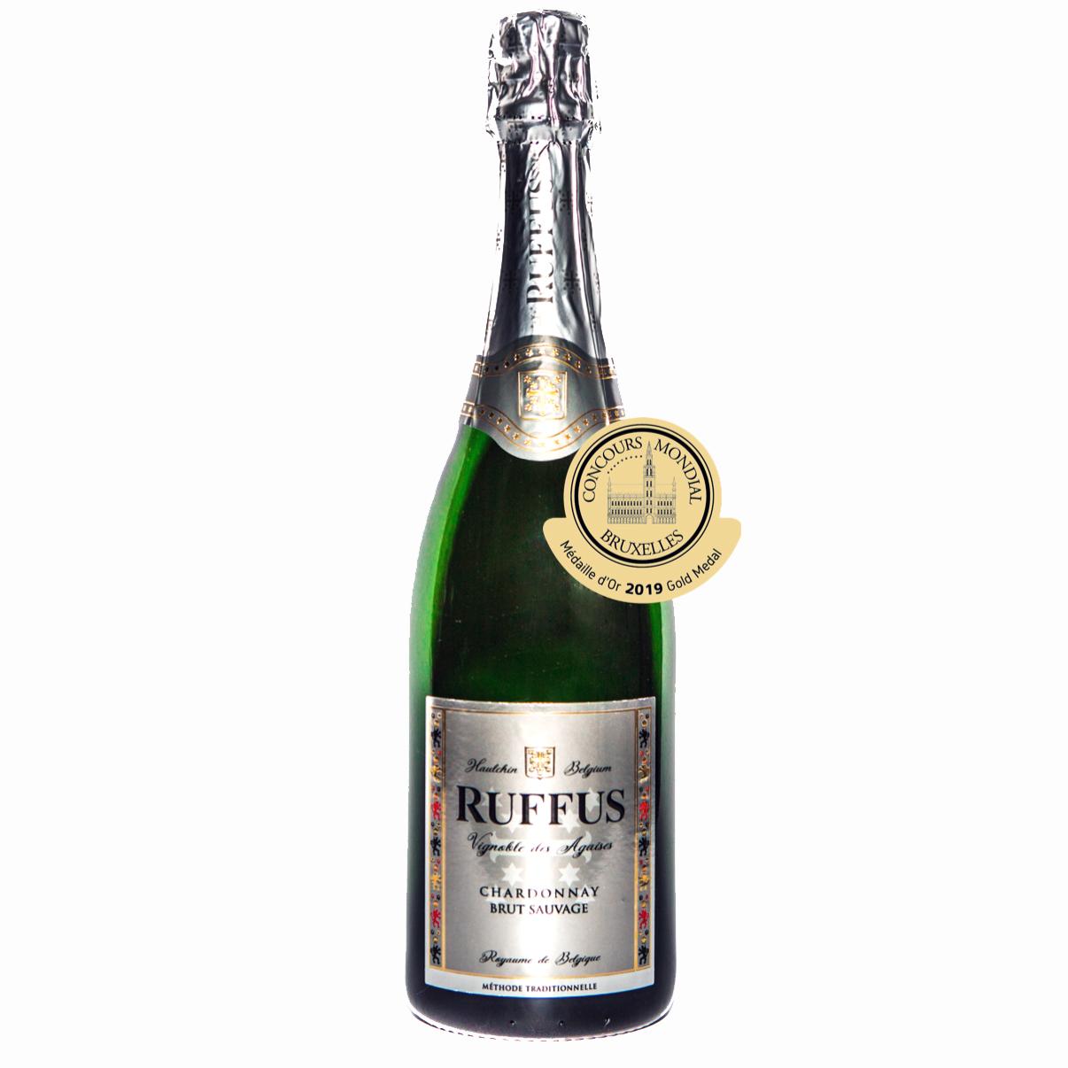 Ruffus - Chardonnay Brut Sauvage ( Max 2 bouteilles par commande, lisez bien la description )