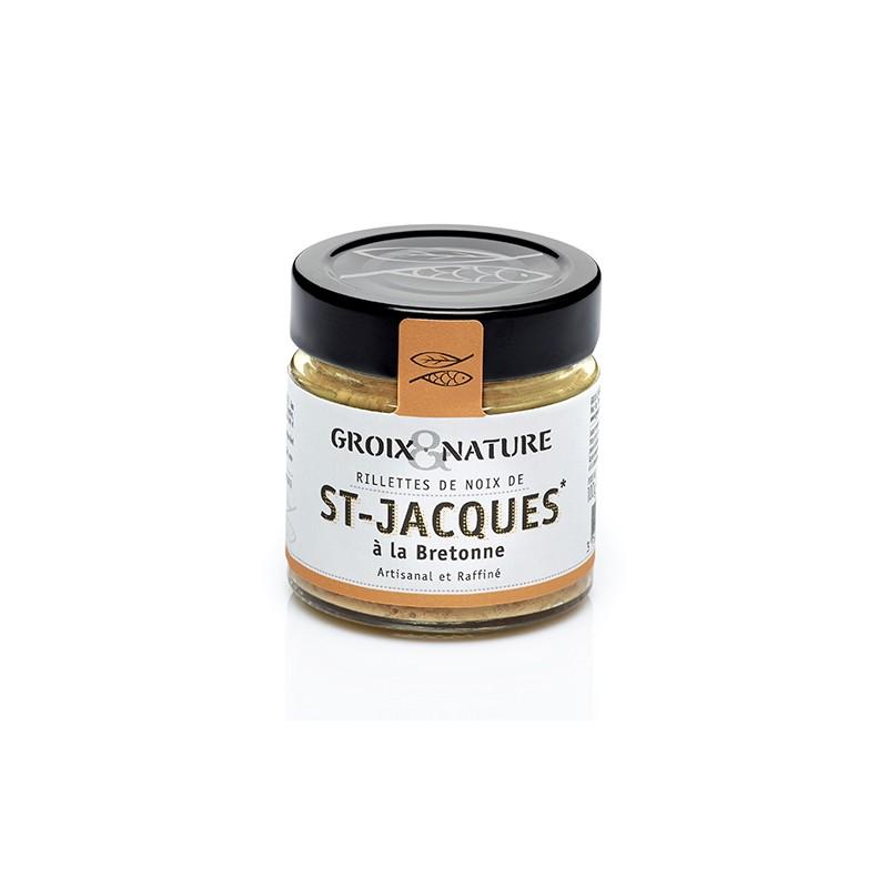 Rillettes de St Jacques à la Bretonne