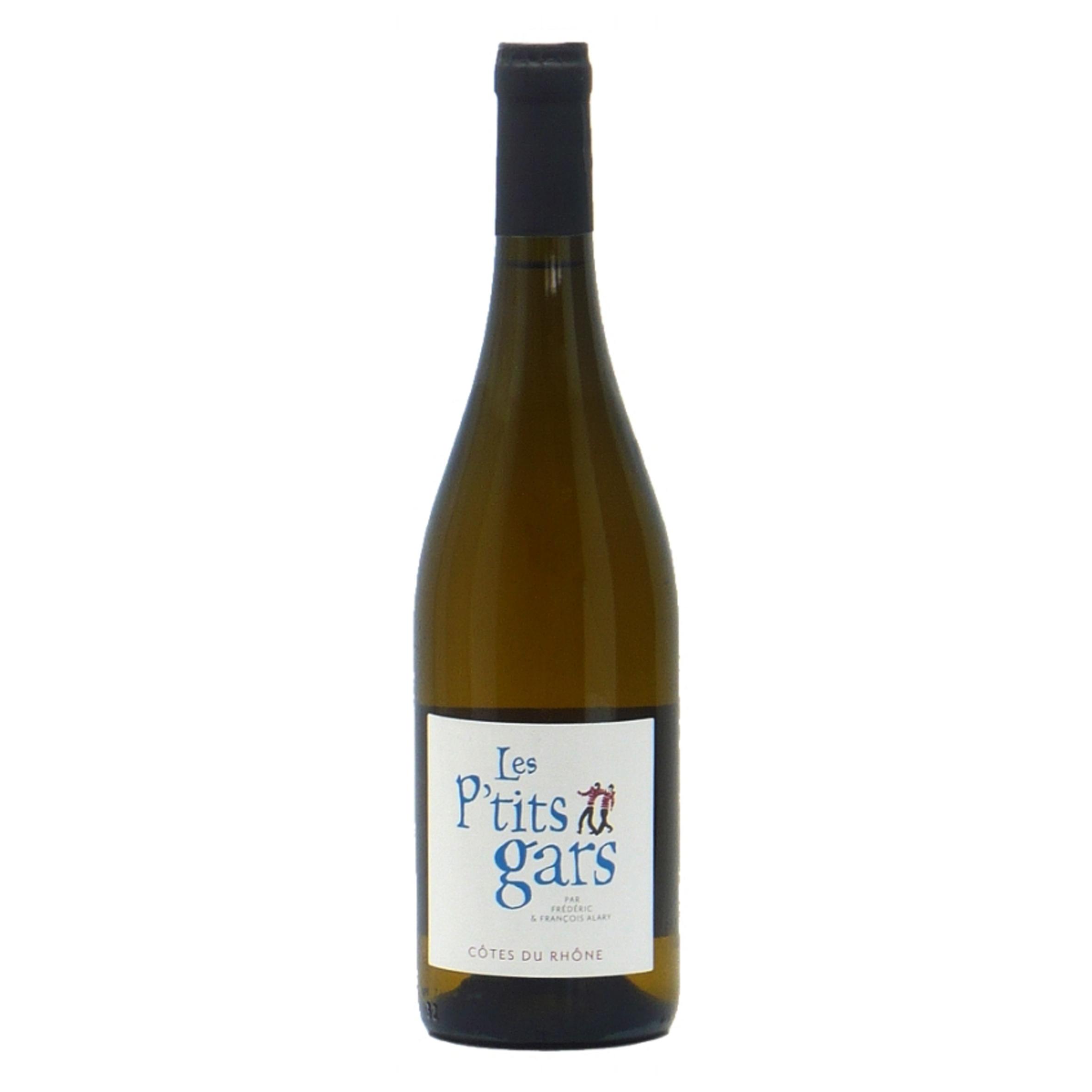 Côtes du Rhône - Les P\'tits Gars - Blanc - Domaine Oratoire Saint-Martin  - 2019 - BIO