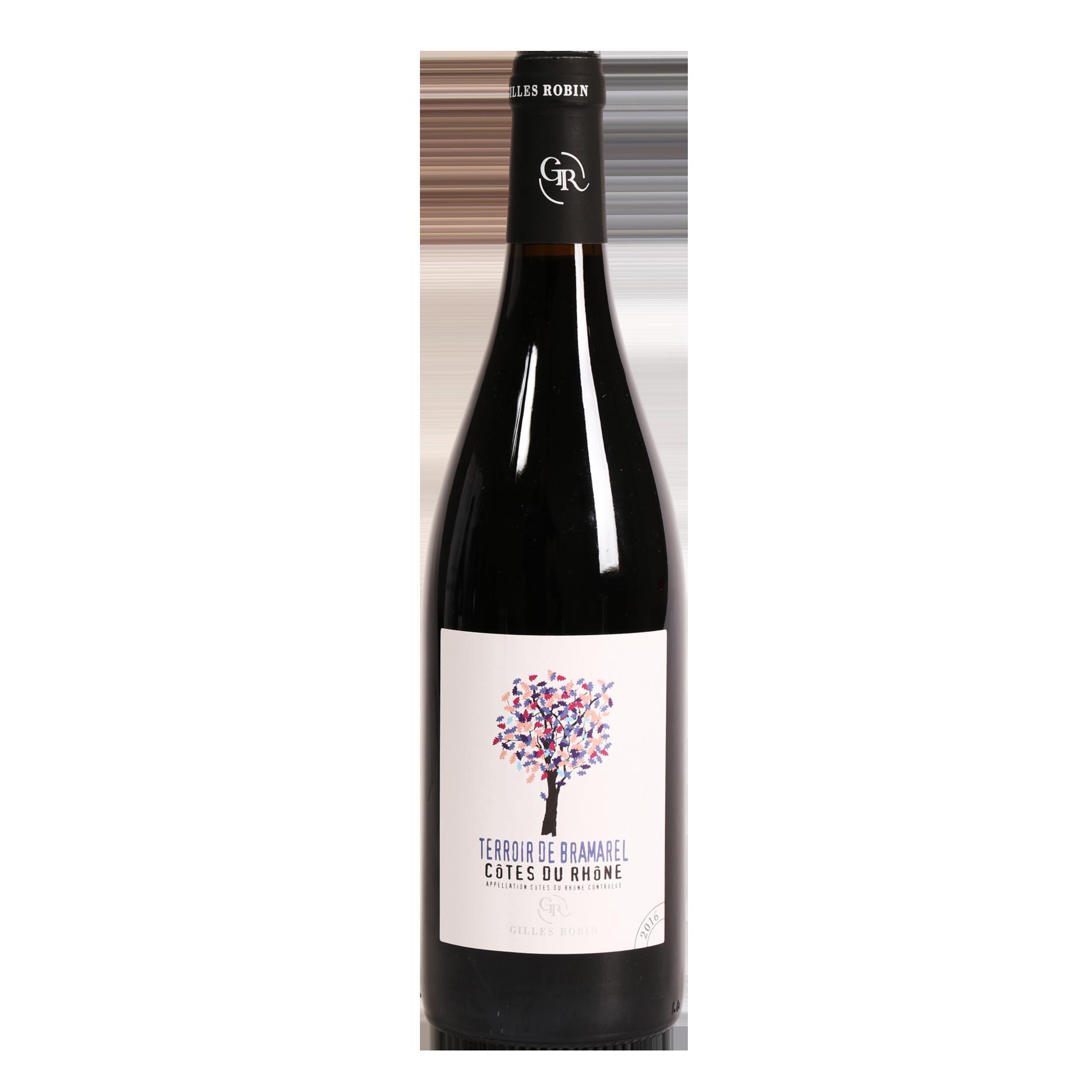 Côtes du Rhône - Terroir De Bramarel  - Domaine Gilles Robin - 2018 - BIO