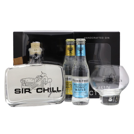 Gin - Sir Chill - 37.5° + Verre & Tonic