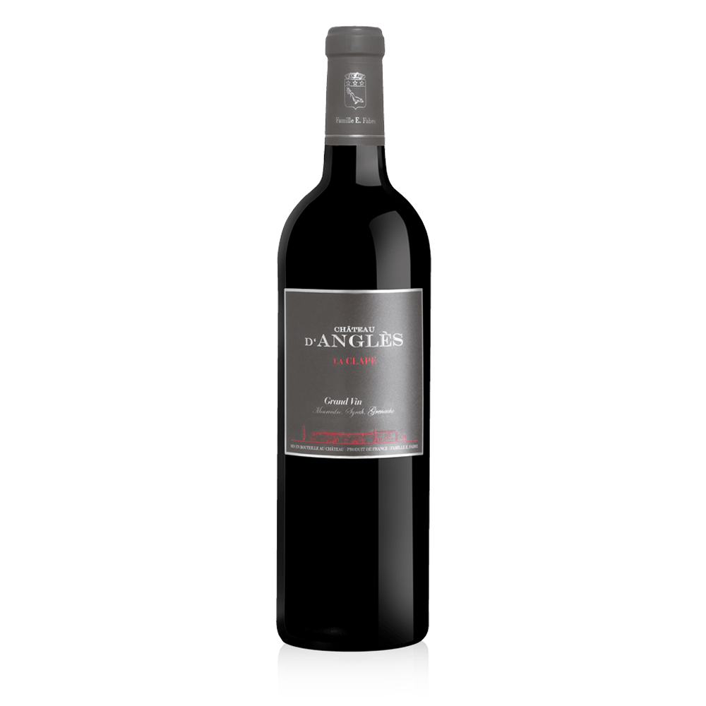 La Clape - Grand Vin - Rouge - Château d\'Angles -  2017