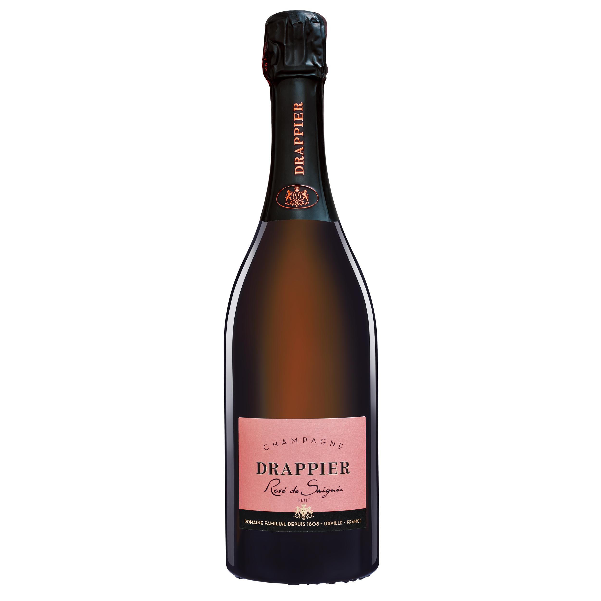 Rosé de saignée - Champagne Drappier