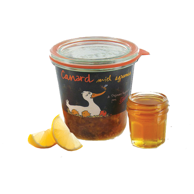 Terrine de Canard Miel Agrumes - Maison Teyssier Salaisons