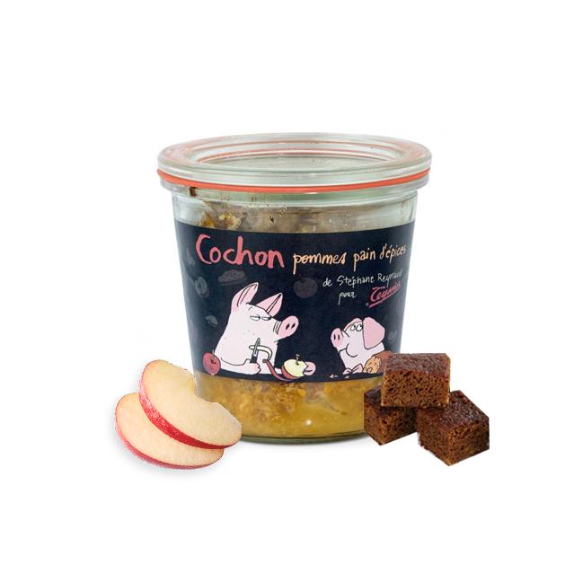 Terrine Cochon Pommes Pain d\'Epices - Maison Teyssier Salaisons