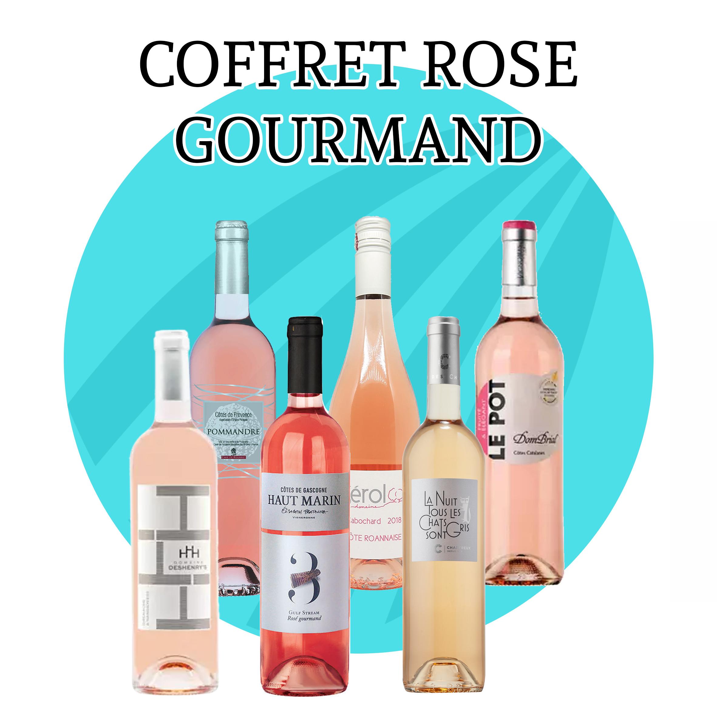 Coffret Rosé Gourmand - 6 bouteilles