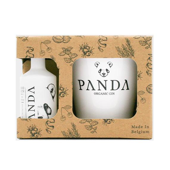 Coffret Gin Panda Baby Box