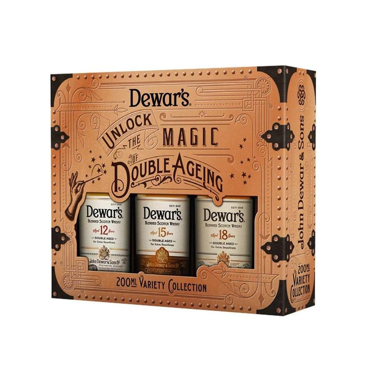 Collection Dewar\'s Whisky 40° -  3X20CL