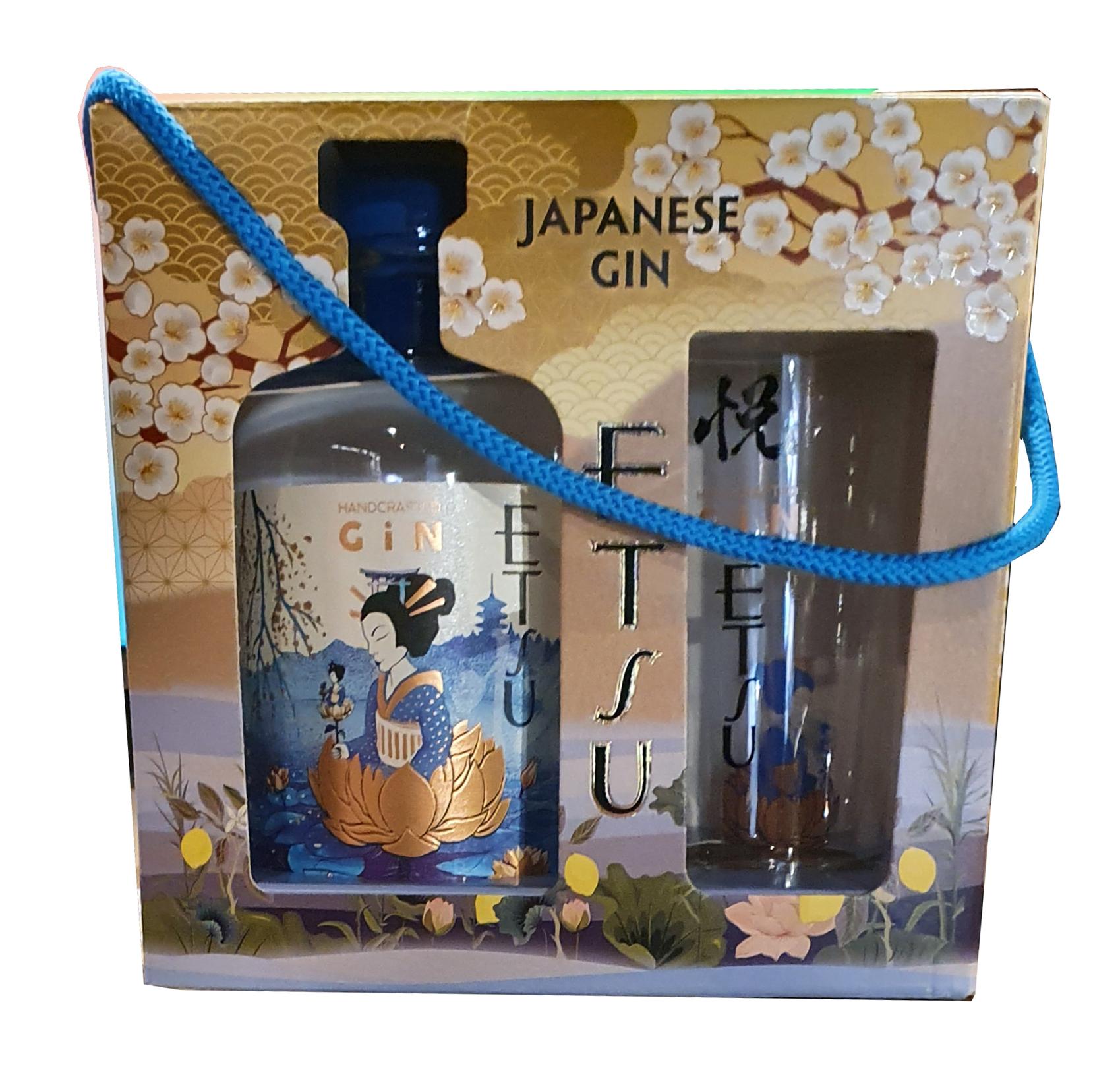 Gin Estu Japonais + 1 Verre
