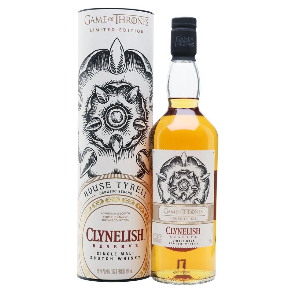 Clynelish Reserve 51,2°, Game of Thrones - Maison Tyrell