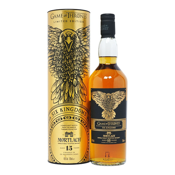 Mortlach 15 Years Six Kingdoms 46° - Game of Thrones