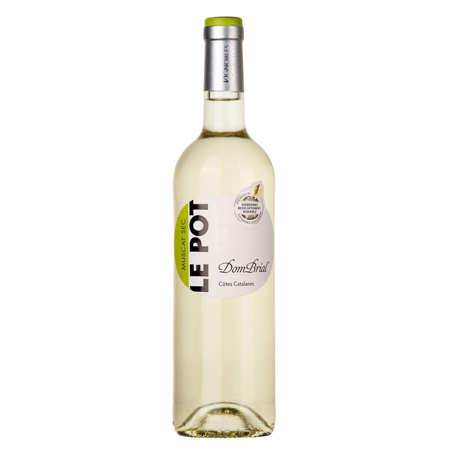 IGP Cotes Catalanes - Le Pot Blanc - Domaine Dom Brial - 2020