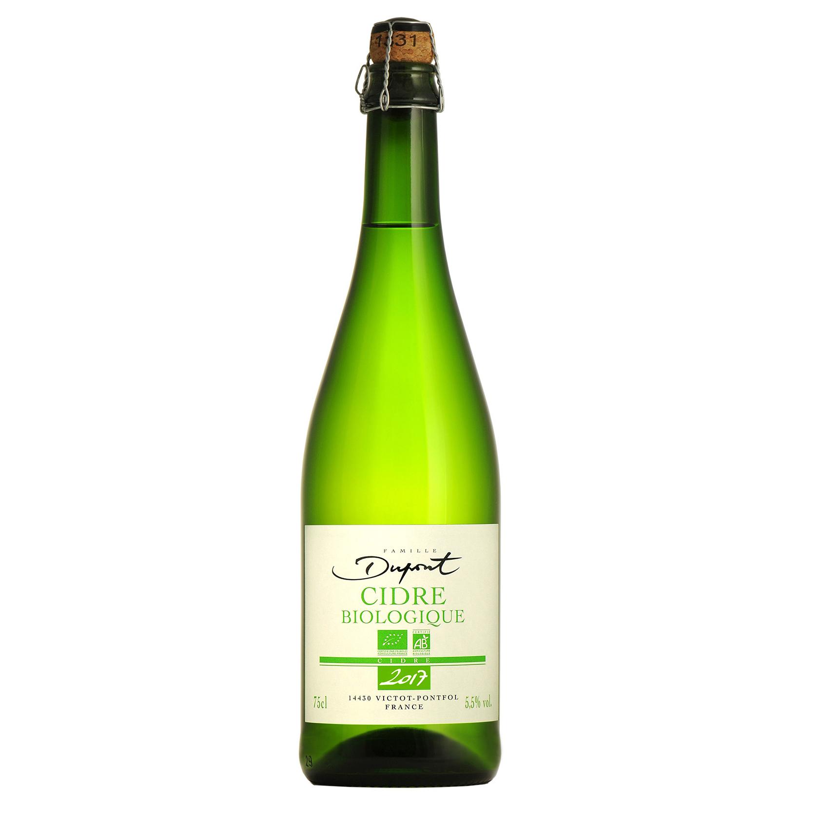 Cidre Biologique Organique - 4,5° (BIO) - Domaine Dupont