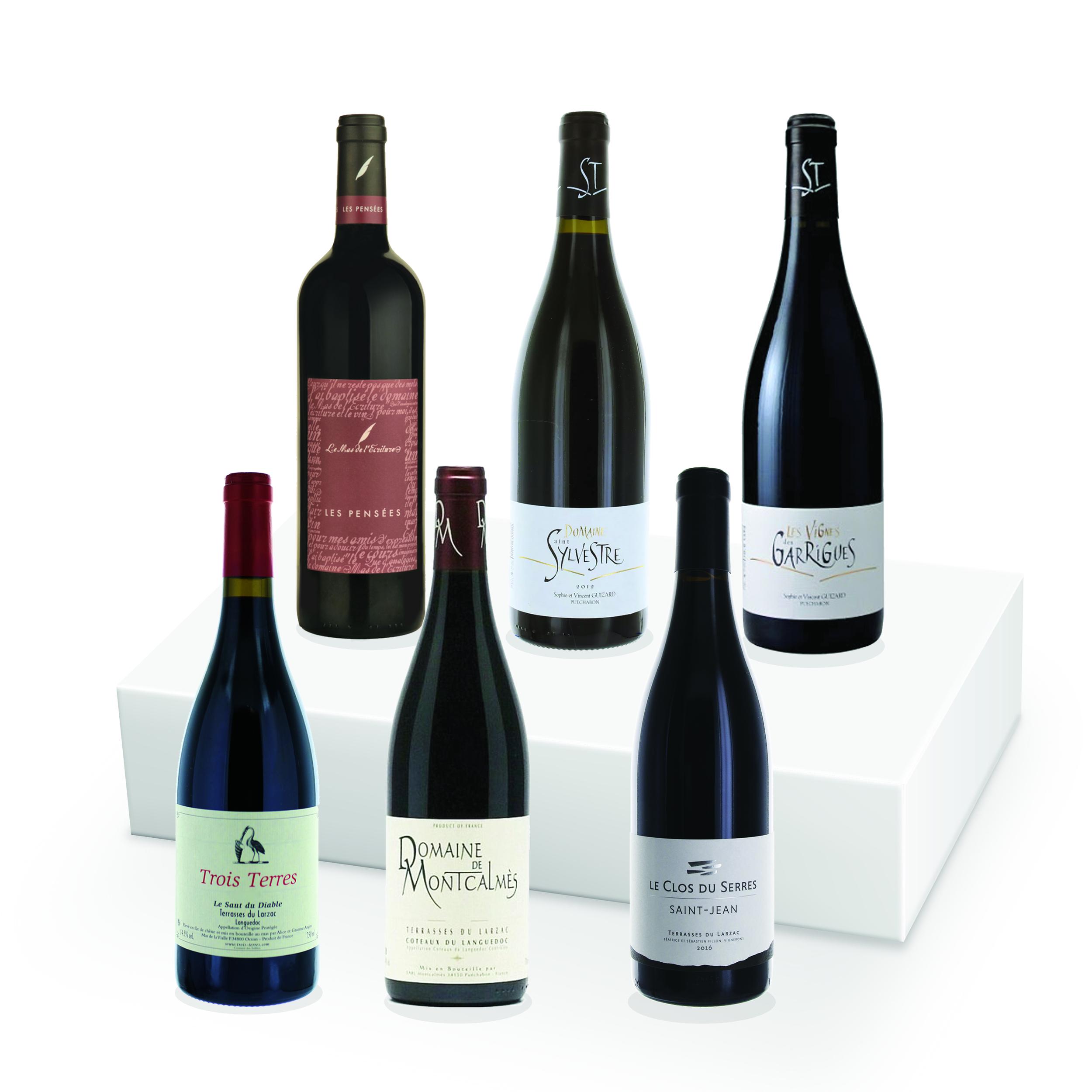 Le Coffret - Terrasses du Larzac (Rouge) -  6 bouteilles