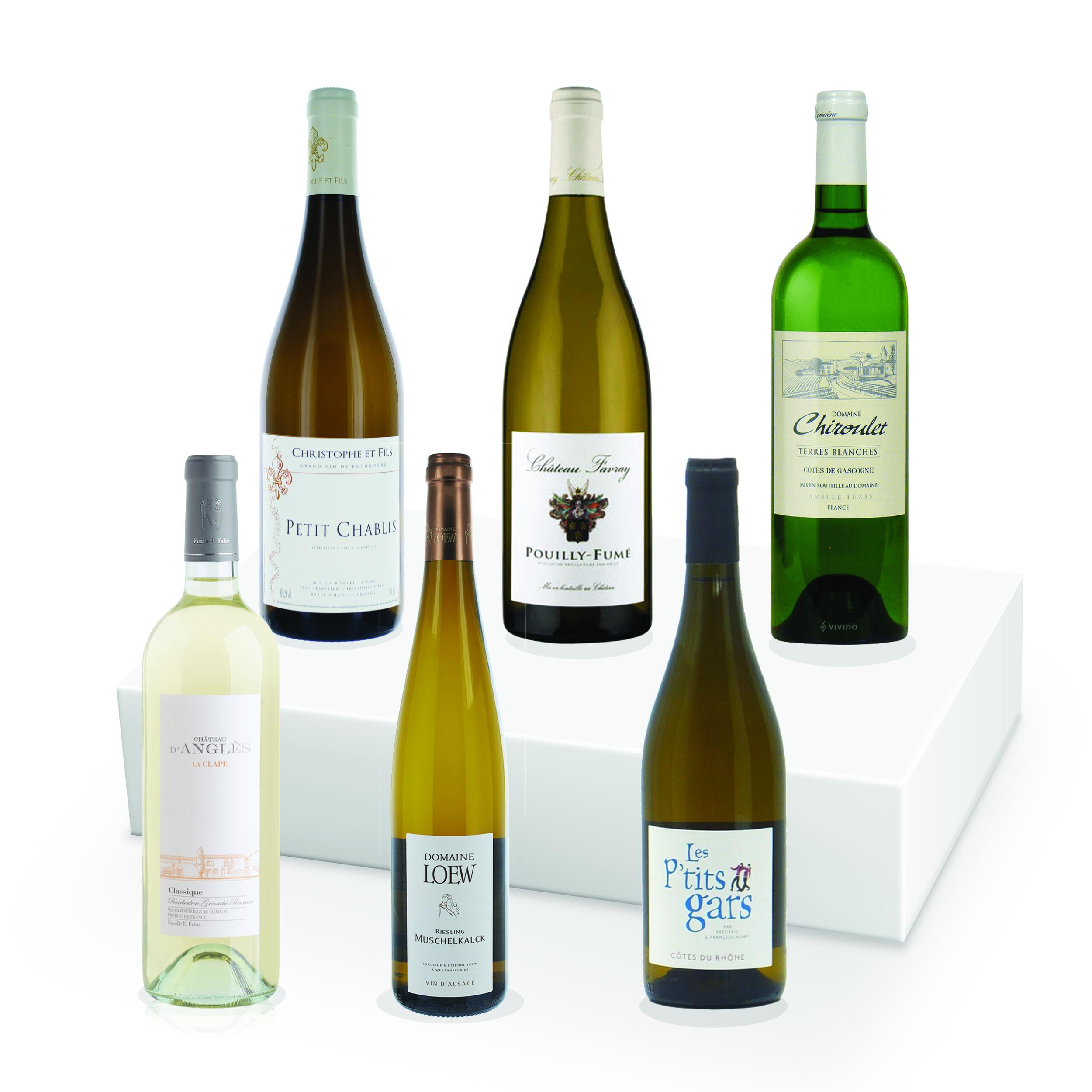 Coffret Vins Blancs - 6 Régions