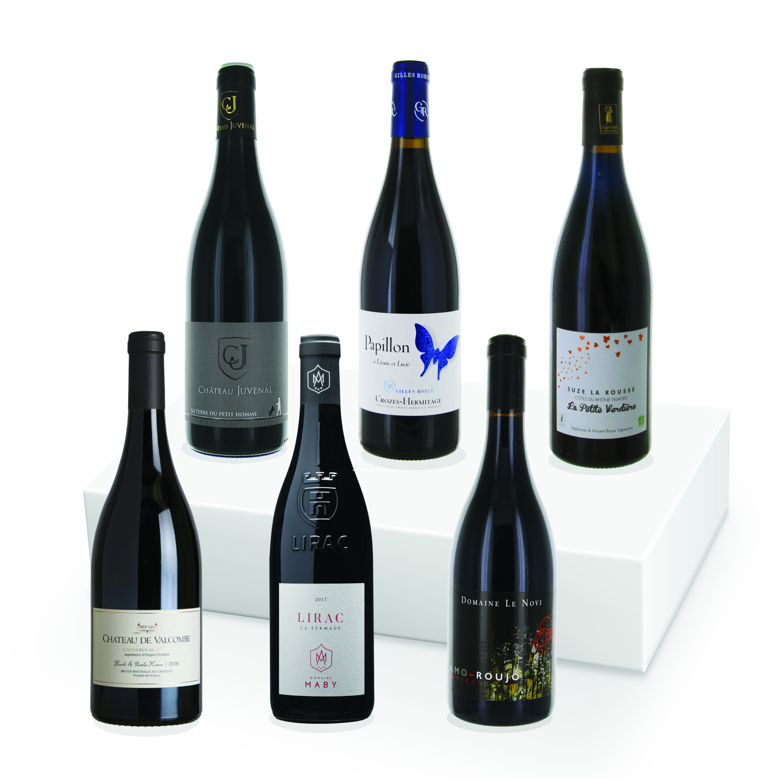 Le Coffret - Côtes du Rhône Rouge - 6 Bouteilles