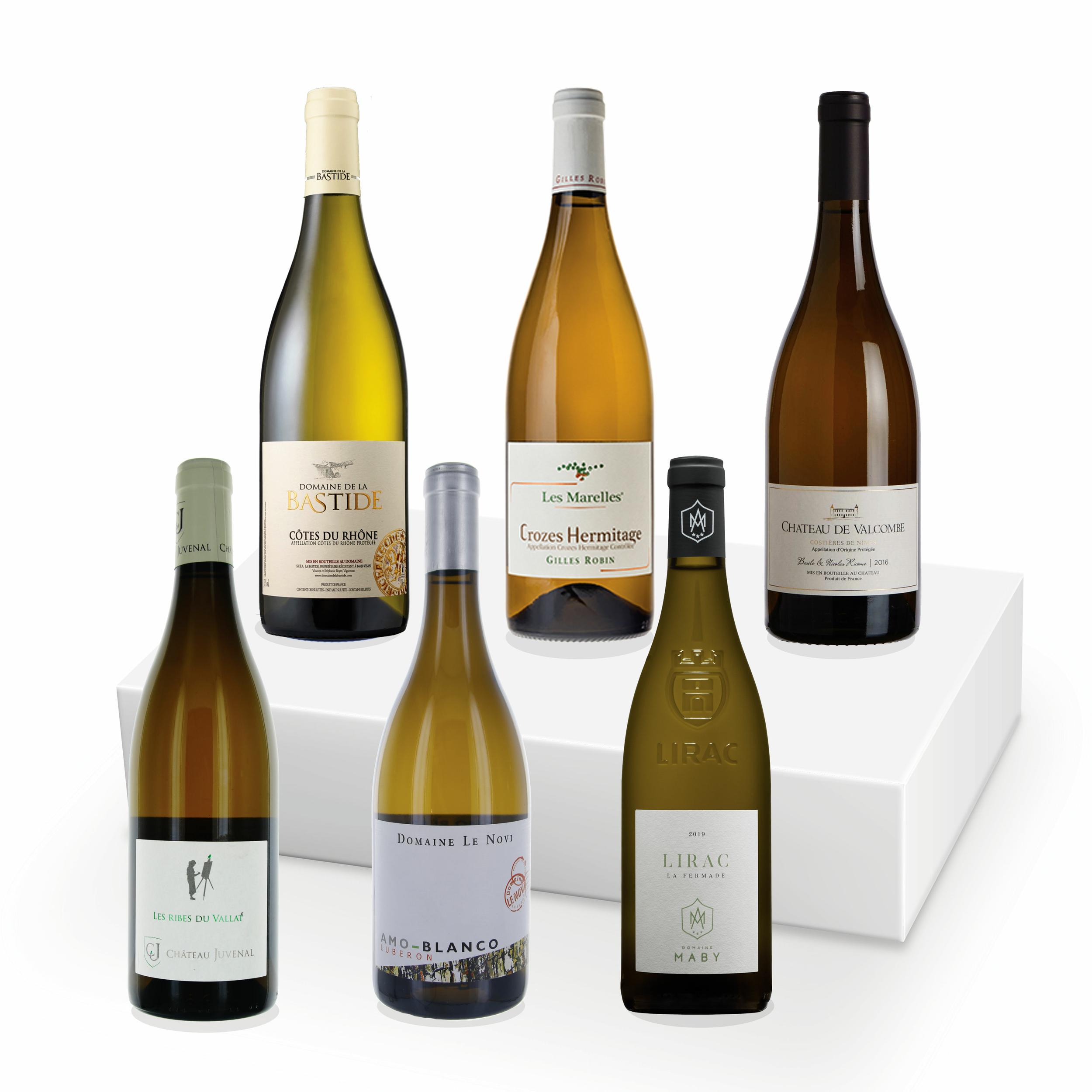 Le coffret - Côtes du Rhône Blanc - 6 Bouteilles