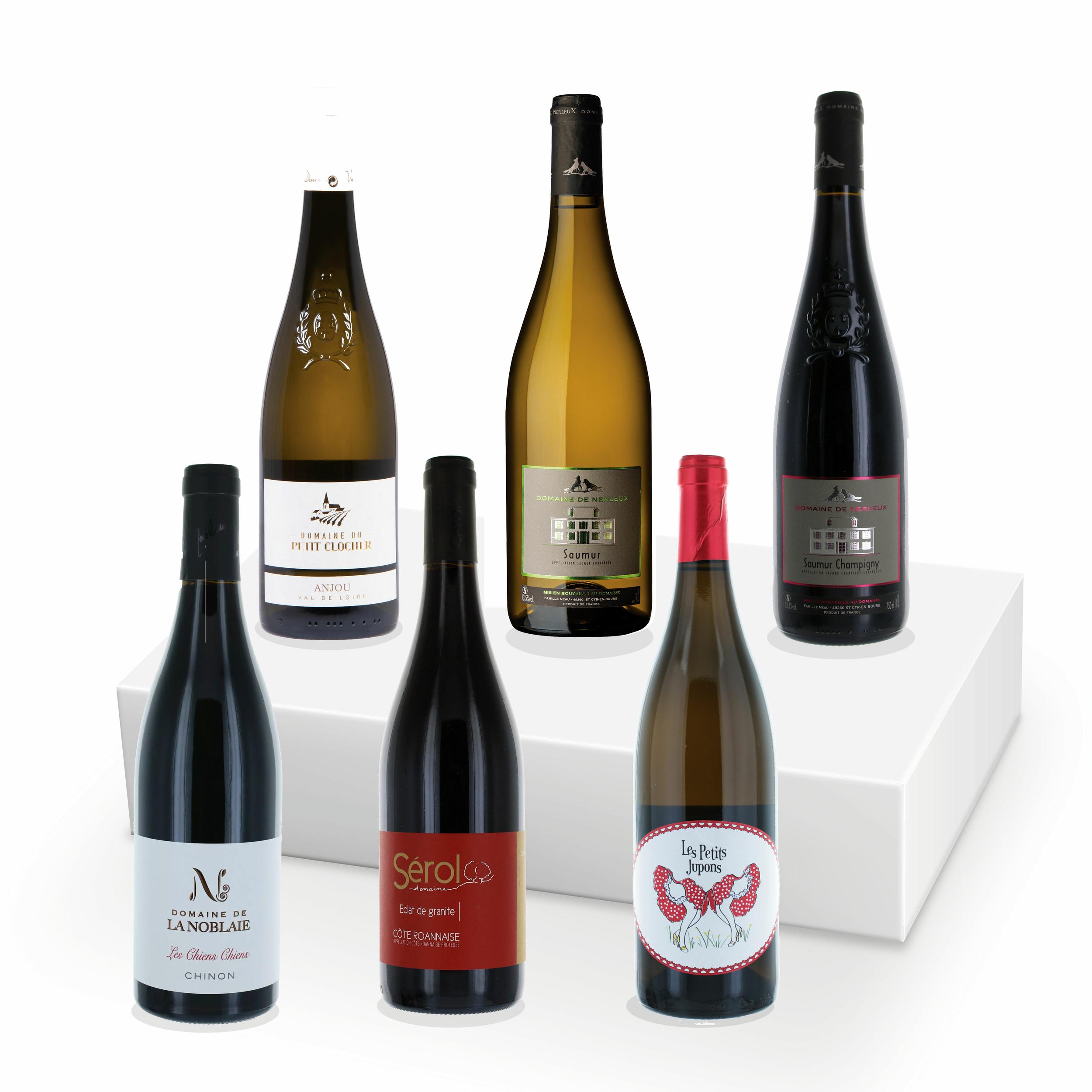 Le Coffret - Découverte de la Loire (Rouge & Blanc) - 6 Bouteilles