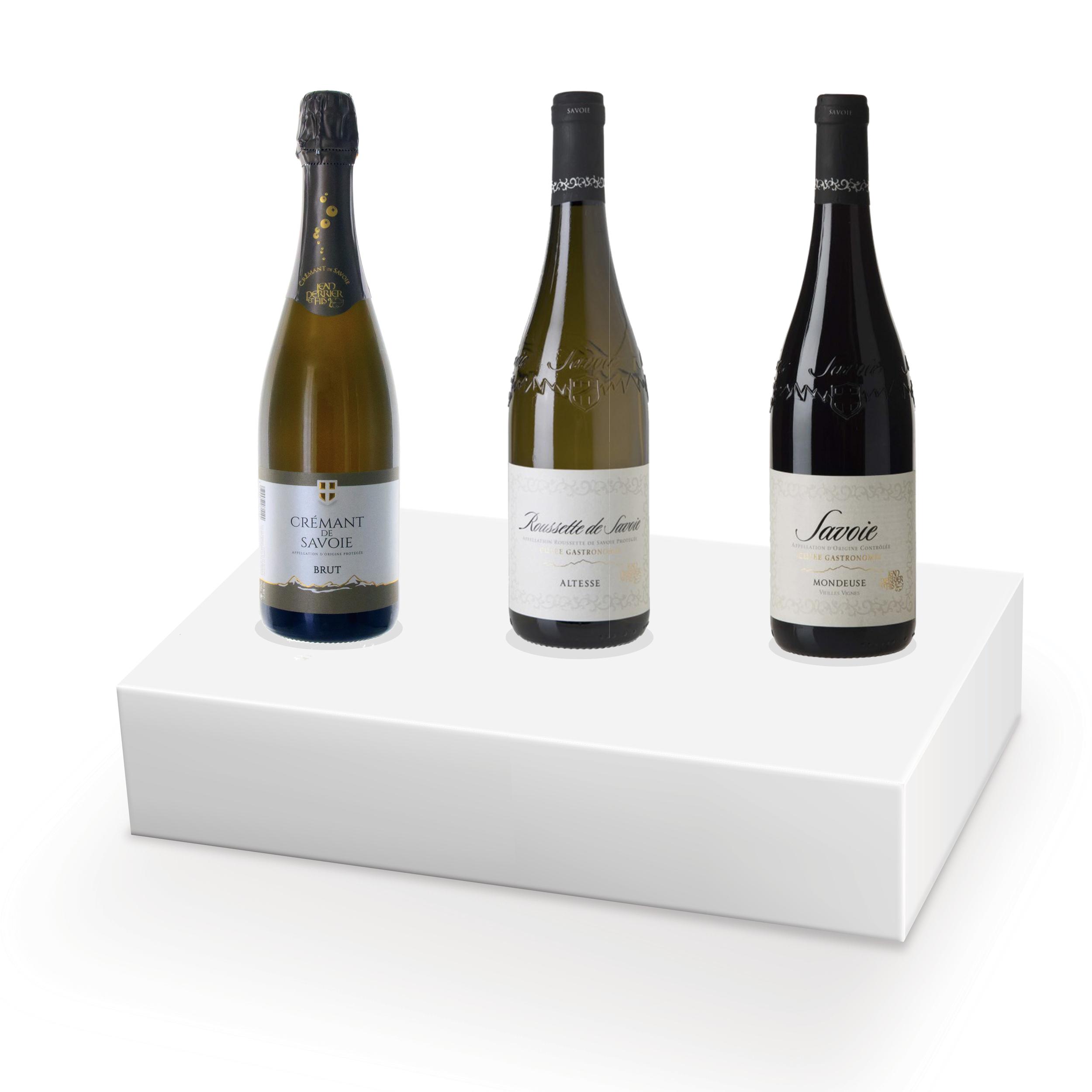 Coffret vins pour raclette - 3 bouteilles - N°1