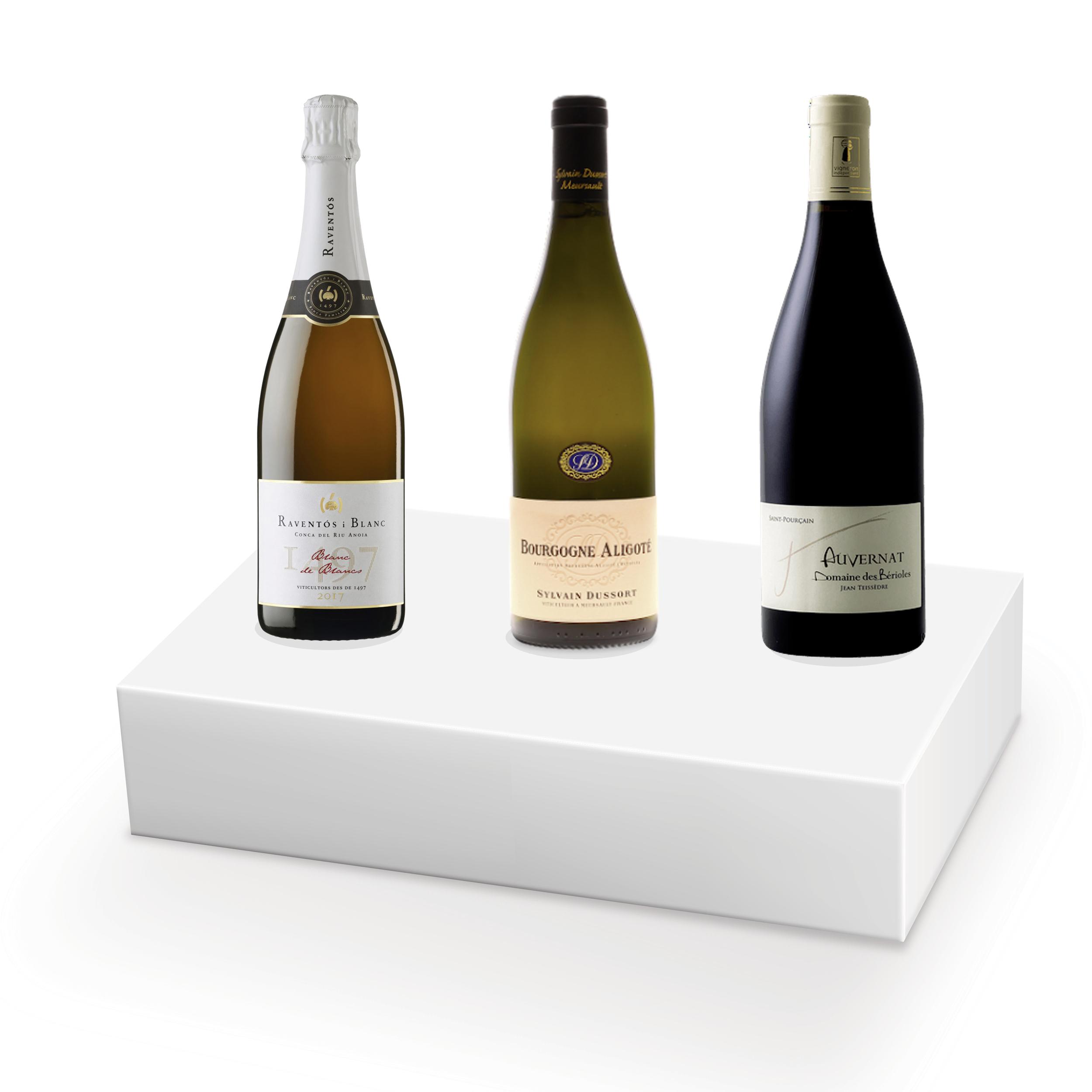Coffret vins pour raclette - 3 bouteilles - N°2