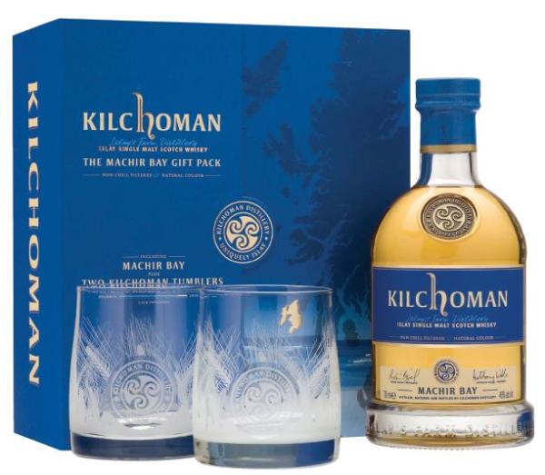 Kilchoman Machir Bay - Coffret 2 verres - Ecosse Islay - Single Malt - 40°