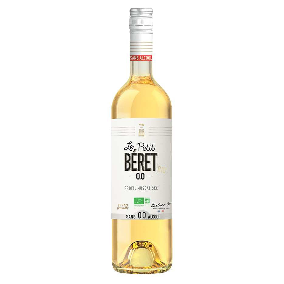 Muscat Sec - Domaine Le Petit Beret - 0° - Blanc - Sans Alcool - BIO