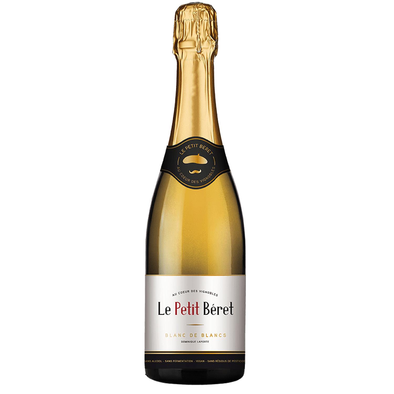 Bulles - Blanc de Blancs - Domaine Le Petit Beret - 0° - Sans Alcool - BIO