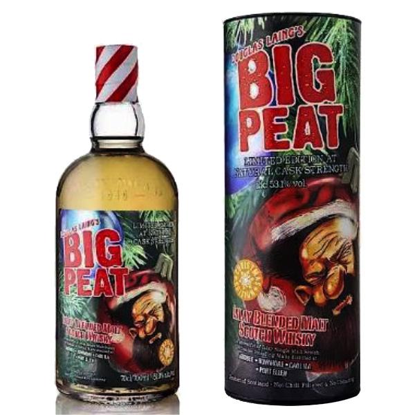Big Peat - Christmas Edition 2020 - Ecosse Islay - Blended Malt - Tourbé - 70cl - 53,1°