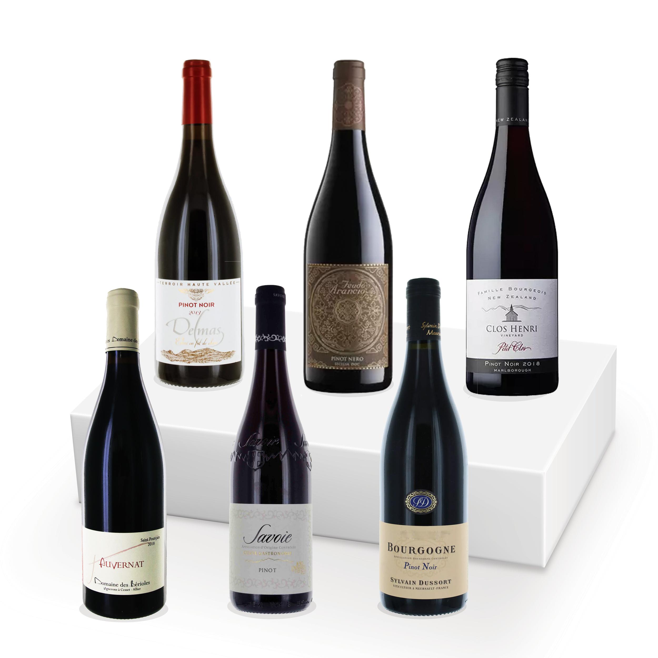 Coffret découverte - 100% Pinot Noir - 6 bouteilles