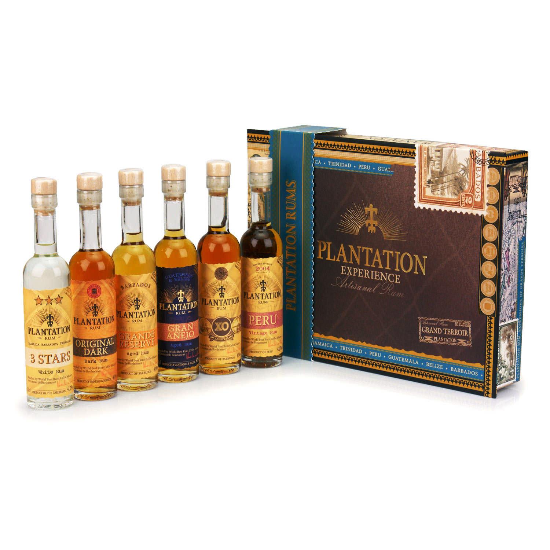 Coffret Experience 6x 10cl Plantation Artisanal Rums