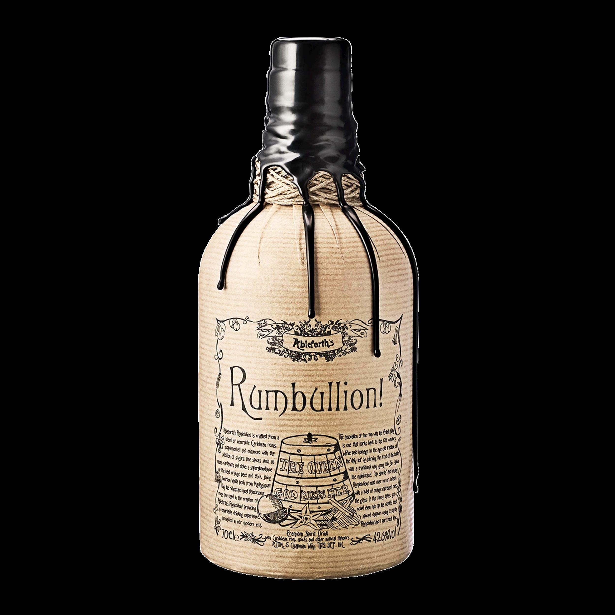 Rhum - Rumbullion - Angleterre - 42,6° - 70cl