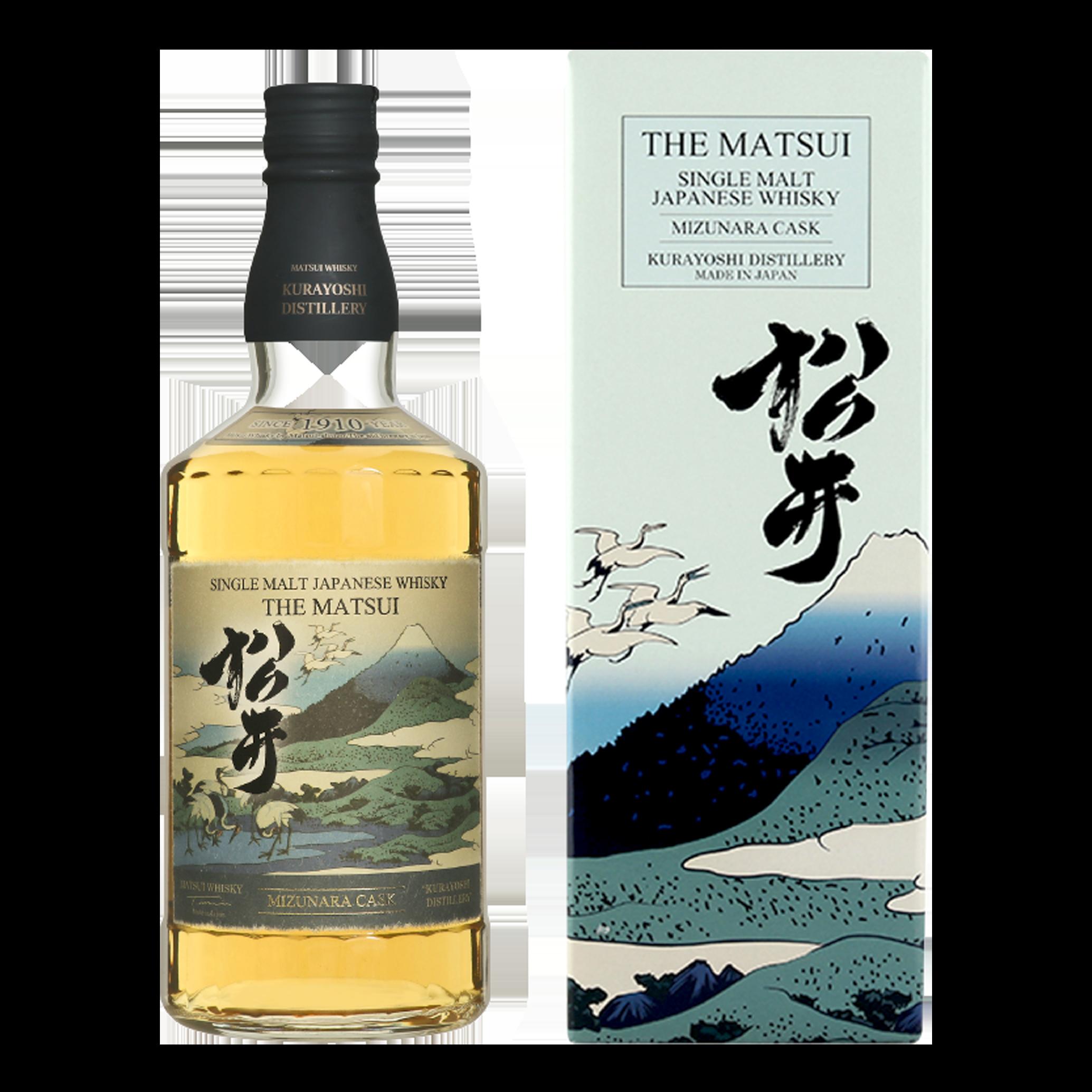 Whisky - The Matsui Mizunara Cask - Japon - 70cl - 48°