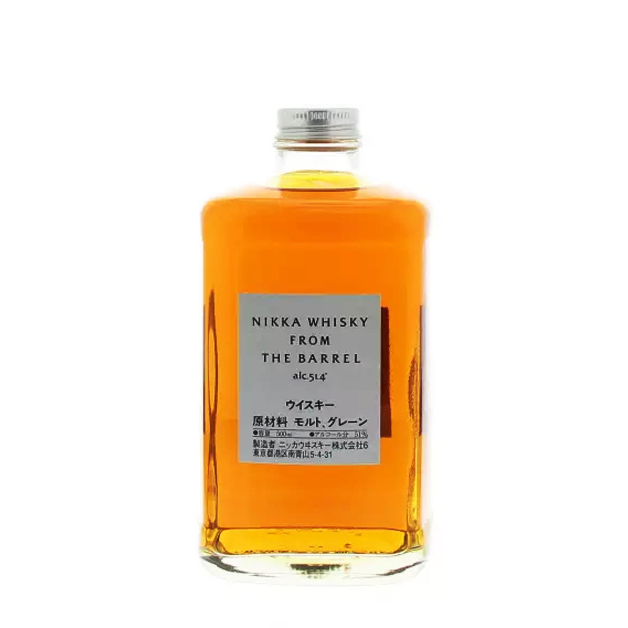 Nikka From The Barrel - Japon - Blended - Non Tourbé - 50cl - 51.4°
