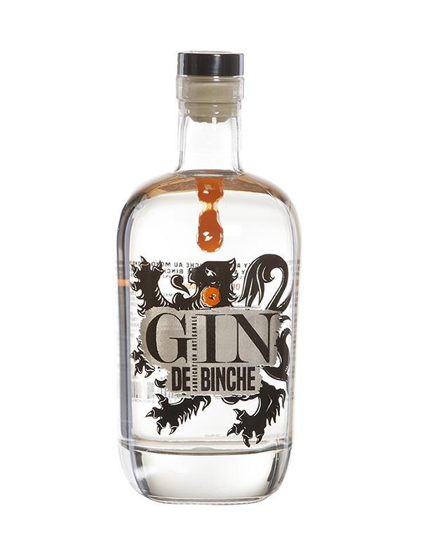 Gin - Gin de Binche - Belgique - 70cl - 40°