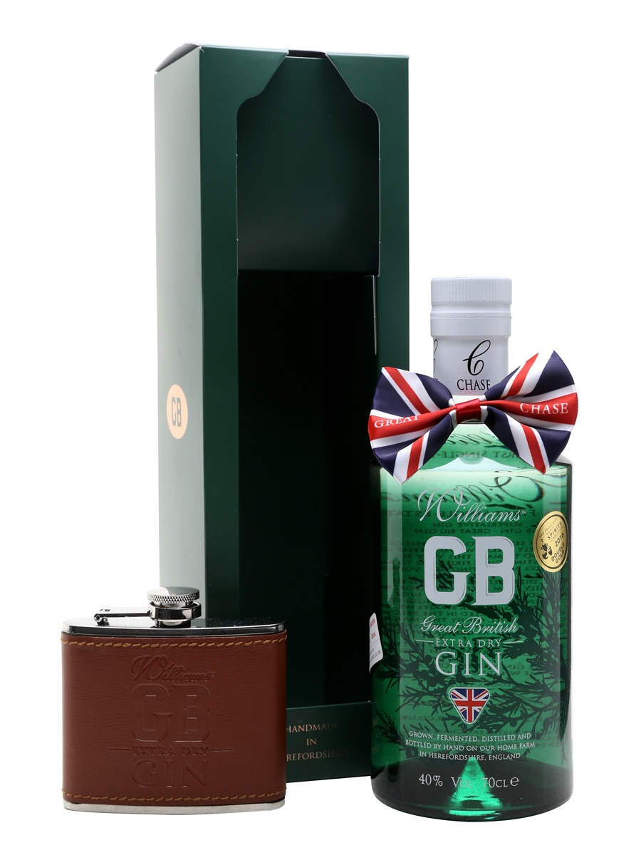Gin - William GB Extra Dry + flasque - Angleterre - West Midlands - 70cl - 40°